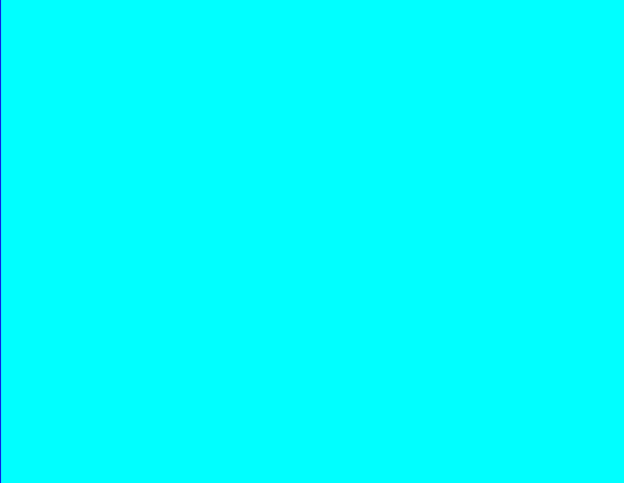 Cyan rectangle